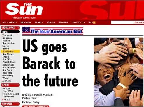 Murdoch Proclaims Obama 'The Real American Idol'