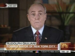 Rudy Giuliani: The Eyes Have It