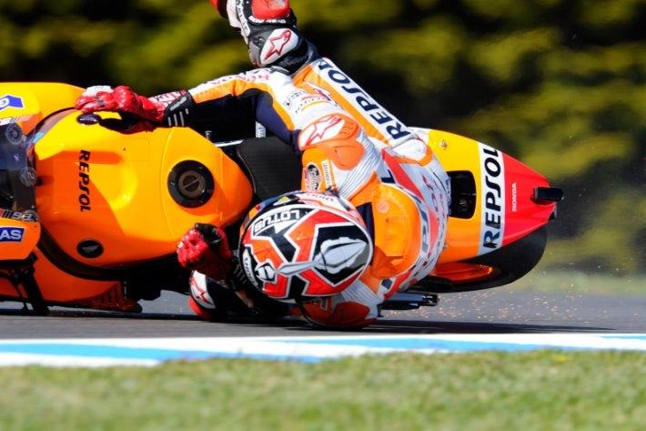 Jorge Lorenzo in Birds! (Directed by Marc Marquez)