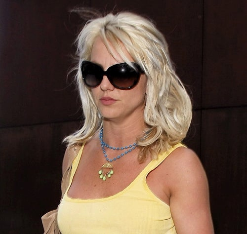 Britney Banned From Going Braless; Lady Gaga Wants Plastic Surgery