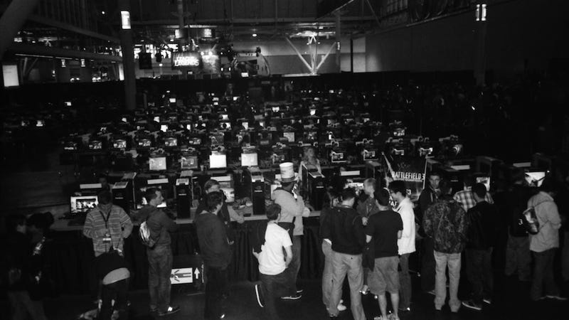 Remembering PAX East, in Splashes of Black and White