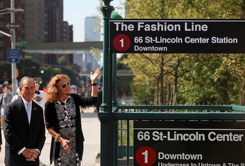 Diane Von Furstenberg To Dress Mayor Bloomberg For His Morning Commute