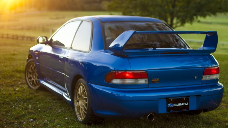 The Impreza 22B Was The Ultimate Thoroughbred Subaru