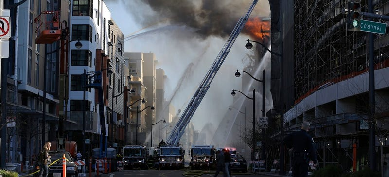 A 100-Year-Old Emergency Water Supply Put Out A Fire In SF This Week