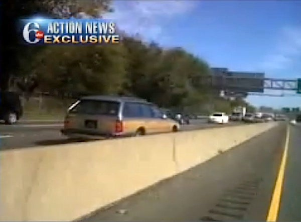 Watch An Elderly Woman Take Her Buick The Wrong Way On I-95