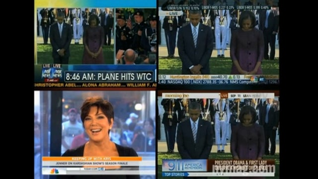 As Other Networks Air 9/11 Moment of Silence, NBC Sticks with Kris Jenner Interview About Breast Implants