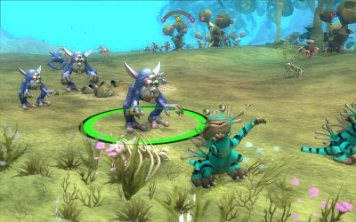 Playing Spore: A Lesson in Teabagging