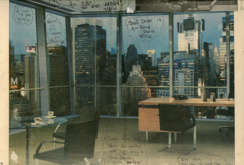 This Newspaper Photo of an Office Is What Keeps One Prison Inmate in Solitary Going