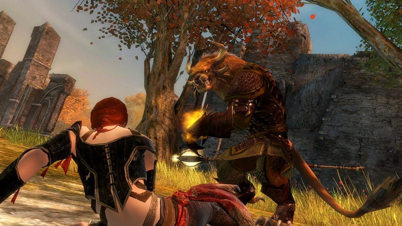 Death In Guild Wars 2 Borrows A Page From Modern Warfare