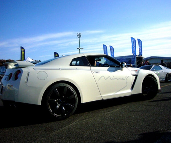 Mine's GT-R Runs 59.4sec Lap of Tsukuba, Coming To US?