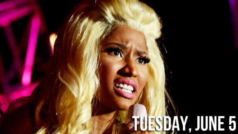 Nicki Minaj, Hero, Tells Idiot Radio Host to Eat a Bag of Dicks