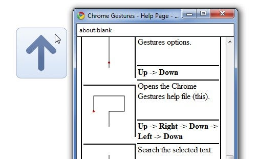 Chromegestures Adds Mouse Gestures to Google Chrome