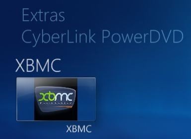 XBMC Integration Integrates XBMC with Windows 7 Media Center