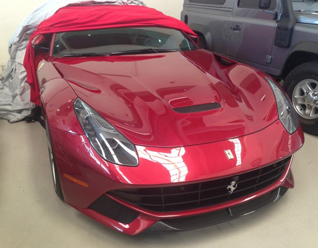 The first Ferrari F12berlinetta to touch the Philippines