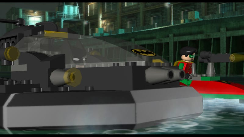 The Vehicles of Lego Batman!