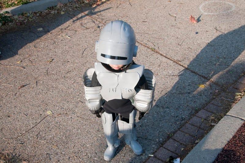 No Criminal Can Escape...Lil' RoboCop