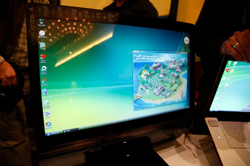 Lenovo IdeaCentre 600 All-in-One and Motion Controller Hands On: Ain't No Wii