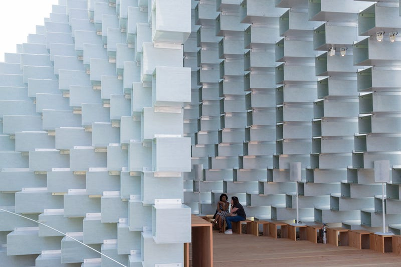 Bjarke Ingels Built a Real-Life Minecraft Structure in London