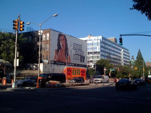 Momentary Disassociation, Or Wow, Billboards!