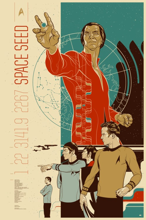 "Star Trek ""Space Seed"" poster sells out in just one hour"