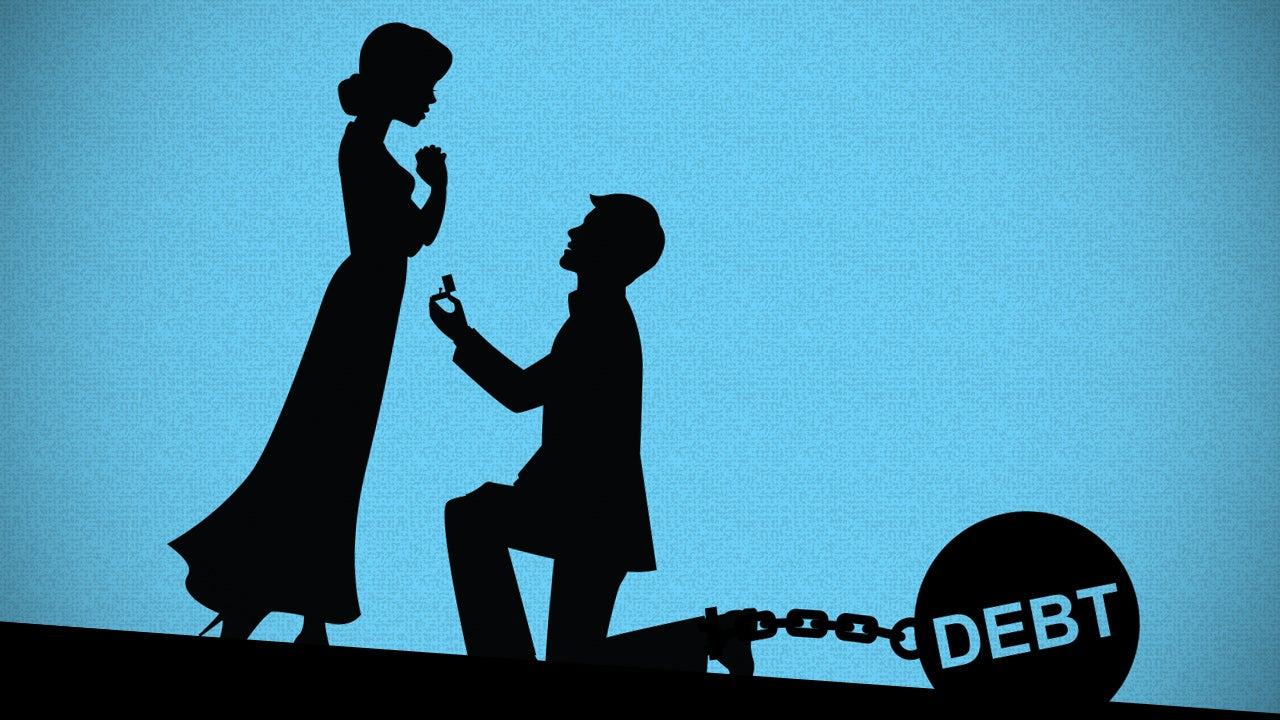 How to Protect Your Credit When You Marry Into Debt