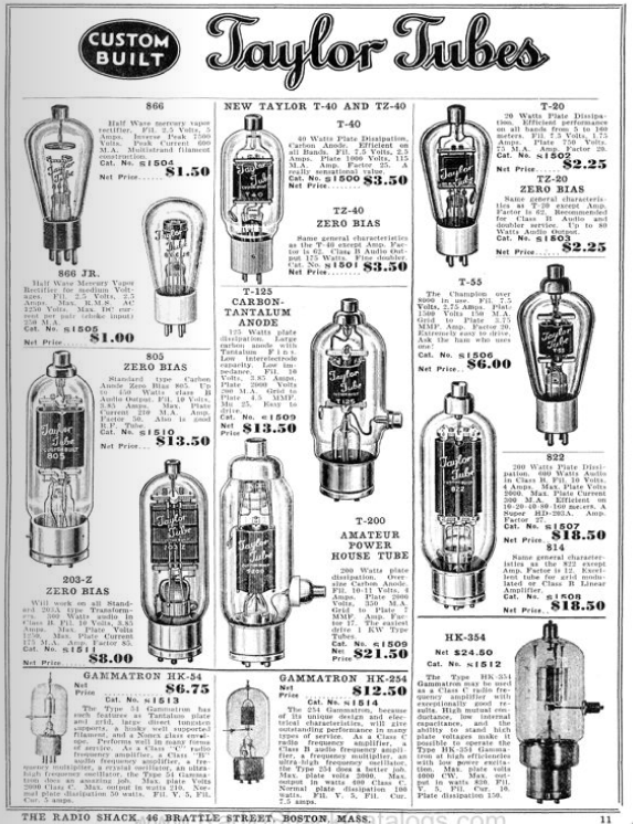 The RadioShack Catalog Archive, 1939-Present