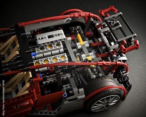 Lego Veyrons