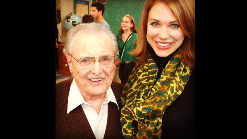 Mr. Feeny Visited the Girl Meets World Set and Probably Gave Everyone Great Life Advice and OMG OMG