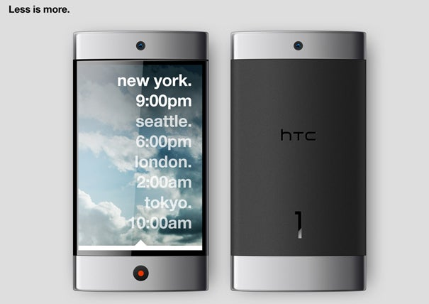 HTC 1 Concept Envisions Minimalism At Its Most Functional