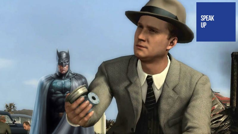 Batman? Cole Phelps? Bah! Give Us a Real Detective Game