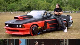 Man Restores Griff Tannen's Hover BMW From <em>Back To The Future 2</em>