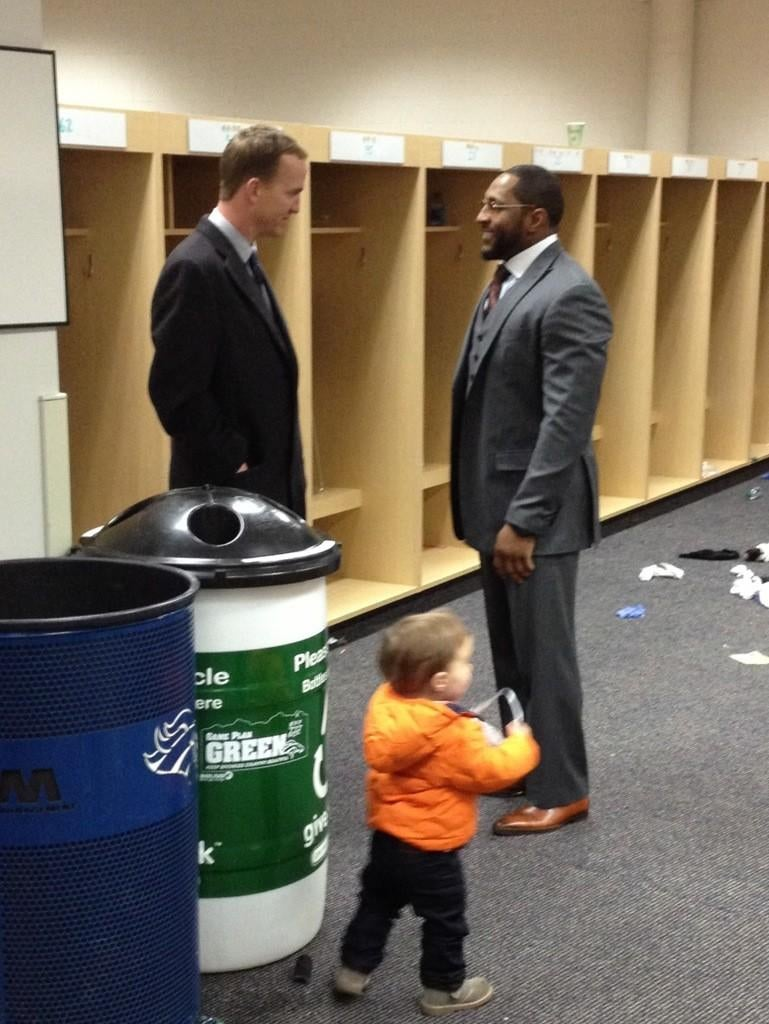 A Summit Of Two Of The Most Widely Loved And Reviled Football Players In The NFL Took Place After Ravens-Broncos