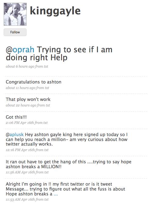 Oprah Fails to Tweet on Her Big Twitter Show