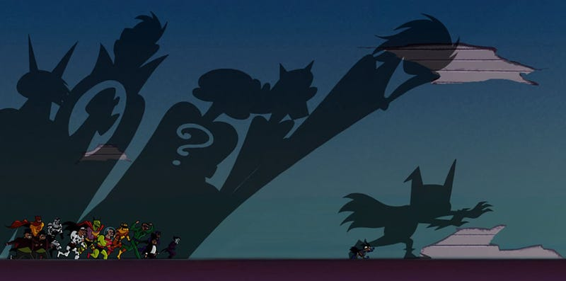 Batman's Cartoon Love Letter A Mite Perfect