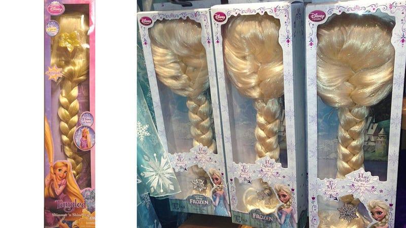 Is Disney Desperately Repurposing Old Tangled Merch as Frozen?