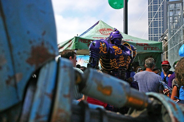 Real Steel Comic-Con Pictures