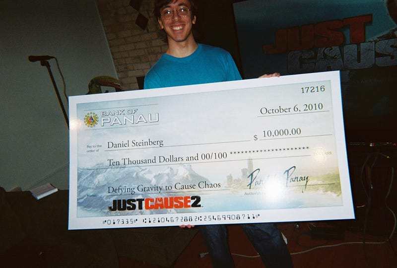 This Just Cause 2 Stunt Was Worth $10,000