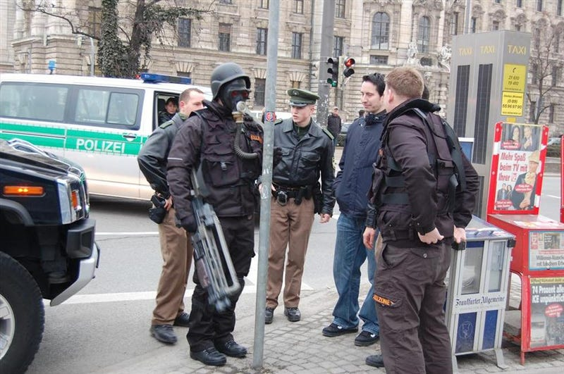 German Cops And Cosplay Do Not Mix