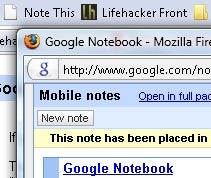 Google Notebook Adds Bookmarklet for Quick Clipping