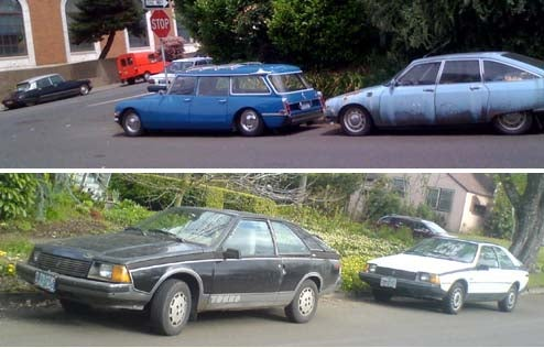 Citroens And Fuegos Roam The Streets Of Portland