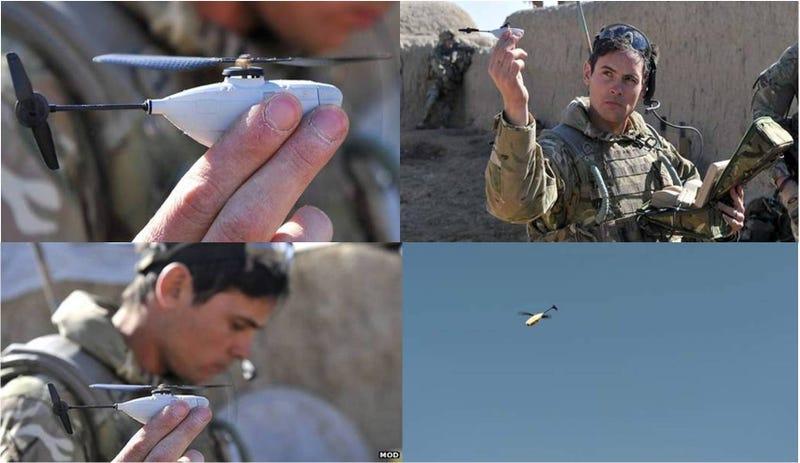 Estos mini-drones de 10 centímetros son lo último en espionaje militar