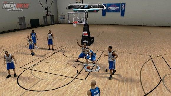 """Draft Combine"" Included in NBA 2K11"