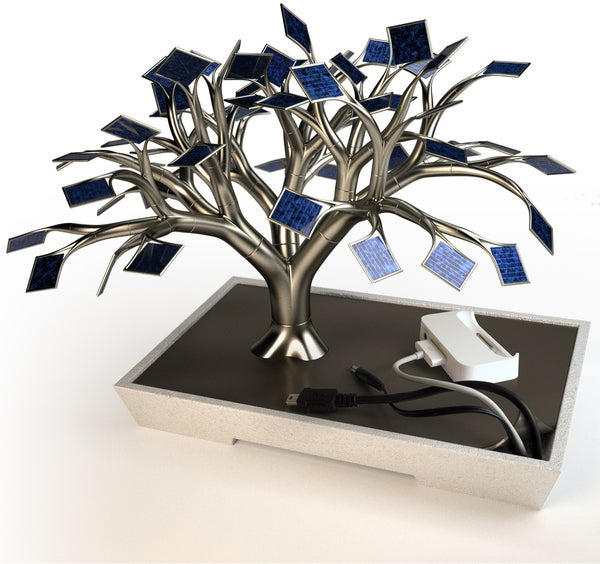 Photosynthesis Solar Tree Concept Is the World's Best Looking Solar Gadget Charger