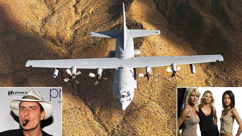 Air Force Names Its Death Machines After Charlie Sheen and Battlestar Galactica