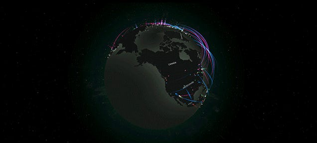 Watch Every Cyber Attack in the World in Real Time