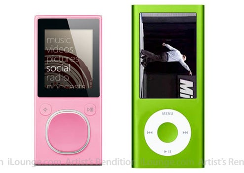 New iPod nano Will Be Taller, Skinnier, More Zune-Like (Gasp!)