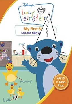 "Walt Disney Calls BS on ""Baby Einstein Melts Your Baby's Mind"" Study"