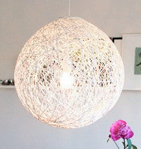 Turn Yarn Into a Modern Lampshade