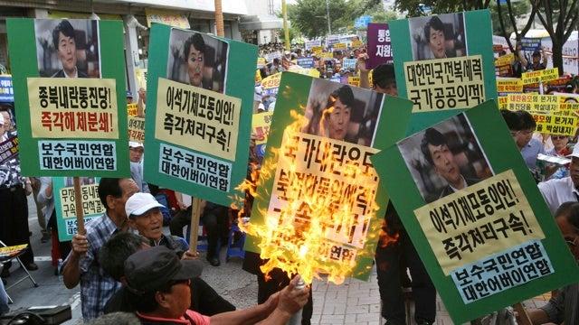 12 évet kapott az ellenzéki képviselő – Dél- és nem Észak-Koreában