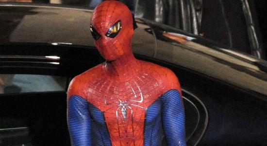 Amazing Spider-Man Set Pictures